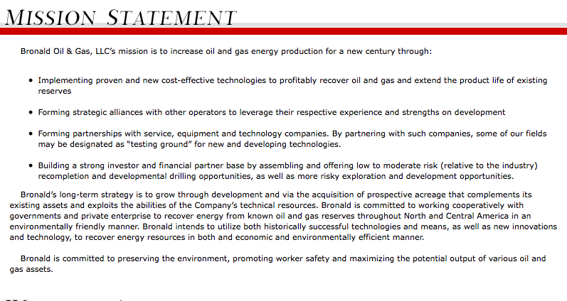 british gas mission statement