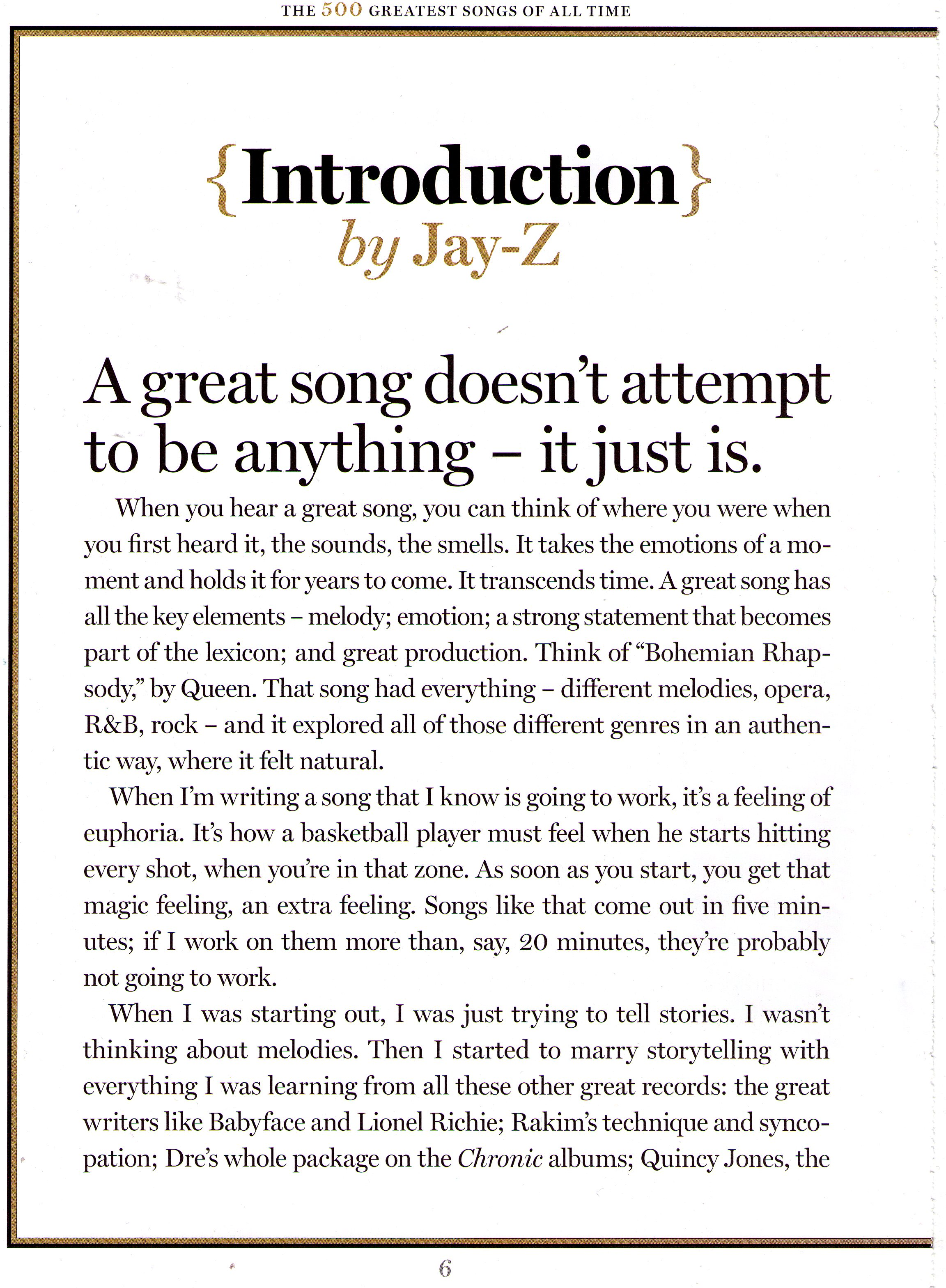 Jay z rolling stone 500 greatest songs intro rap radar for malvernweather Images