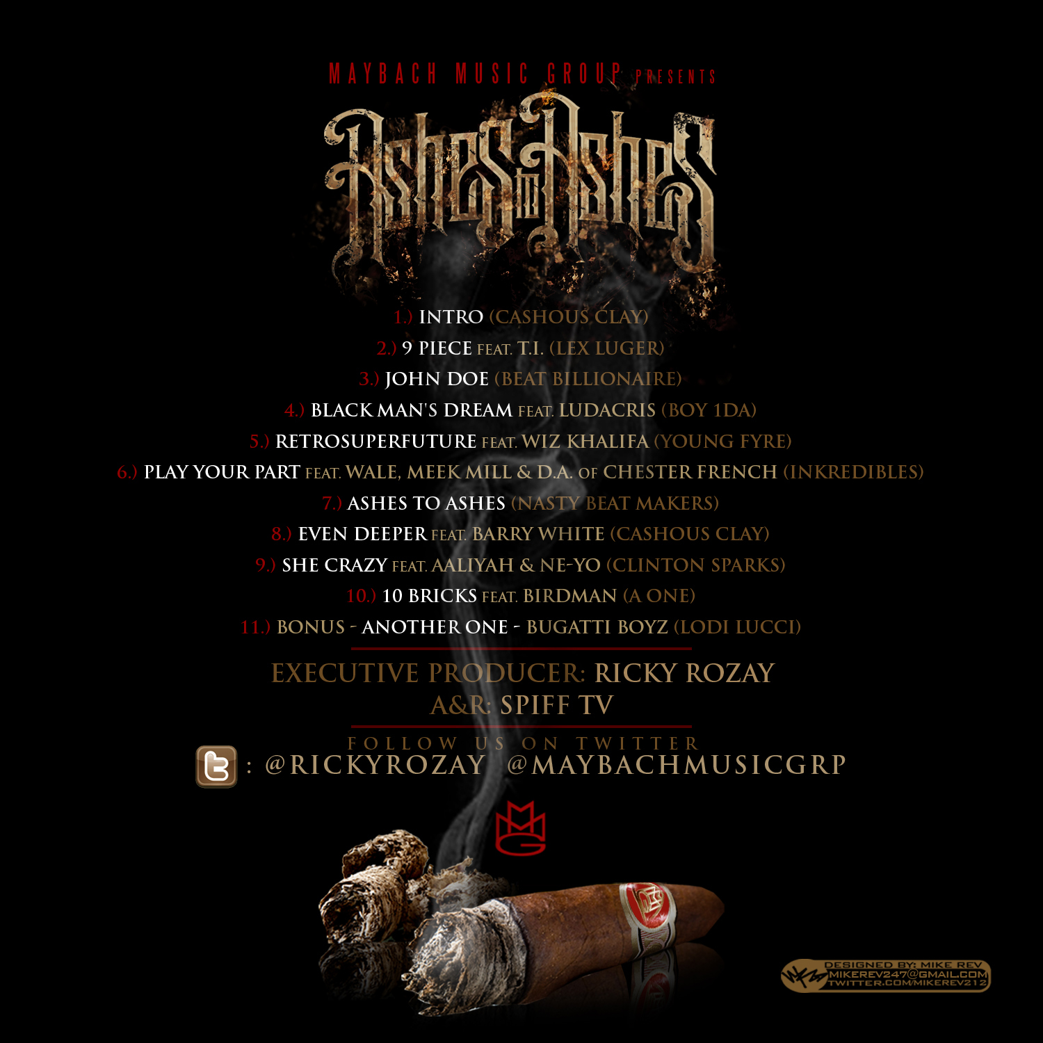 new mixtape: rick ross ashes to ashes | rap radar