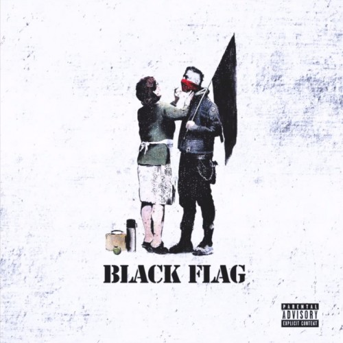 black flag-cover