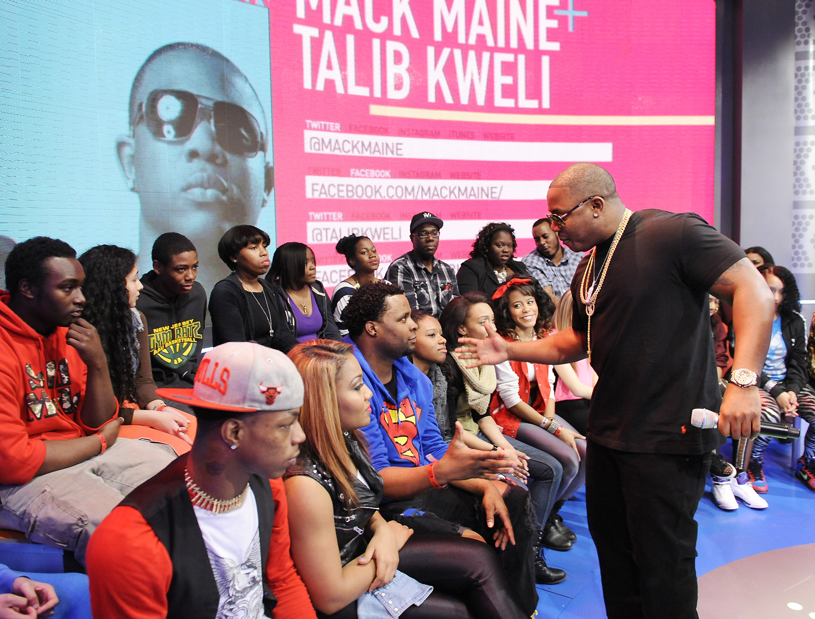 106 & Park, March 18, 2013. (photo: John Ricard / BET)