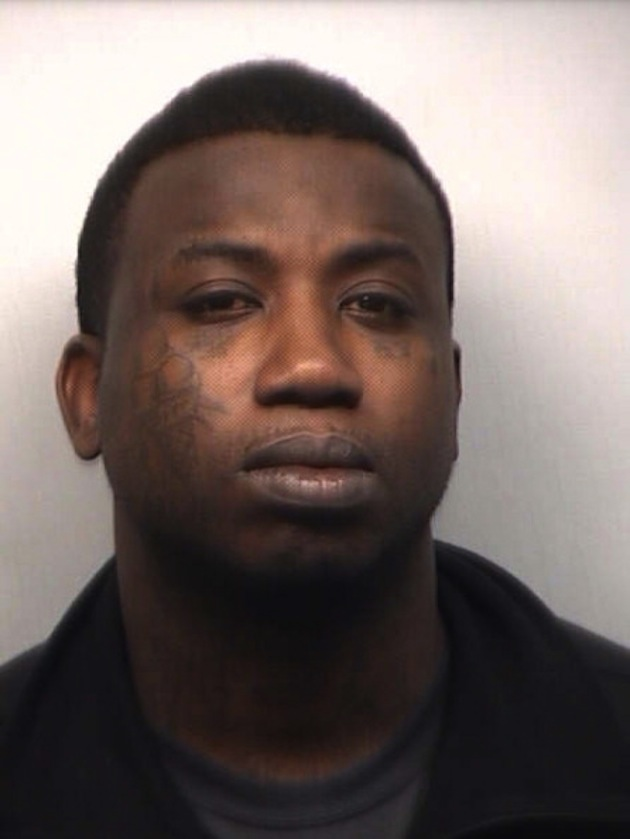 Gucci Mane Booking Photo - March 27, 2013