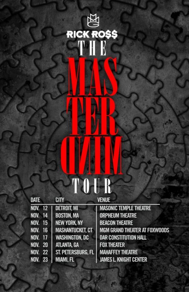 mastermind tour flyer