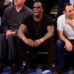 Celebrities Attend The Boston Celtics Vs New York Knicks Playoff Game