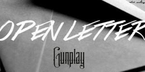 gunplay open letter