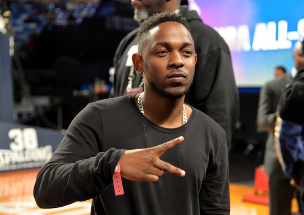 Kendrick+Lamar+Celebrities+Attend+63rd+NBA+u8fgqMlEcDYl