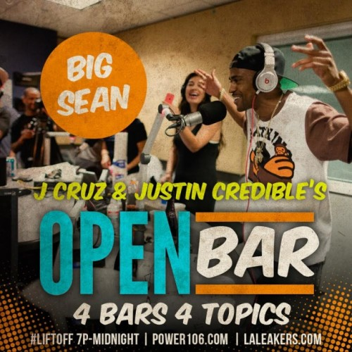 big sean open bars