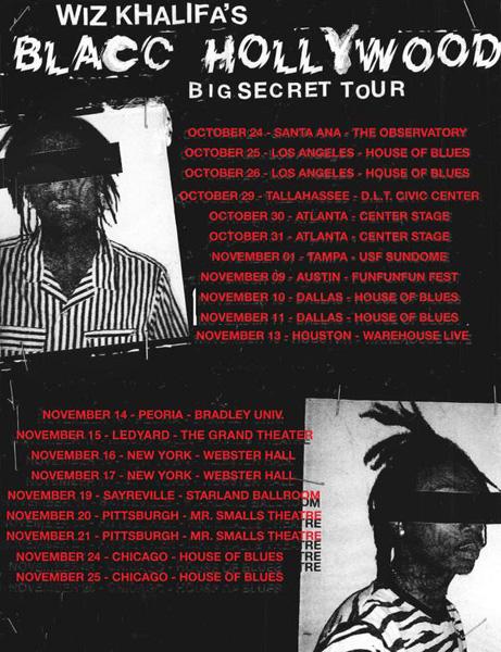 blacc hollywood tour