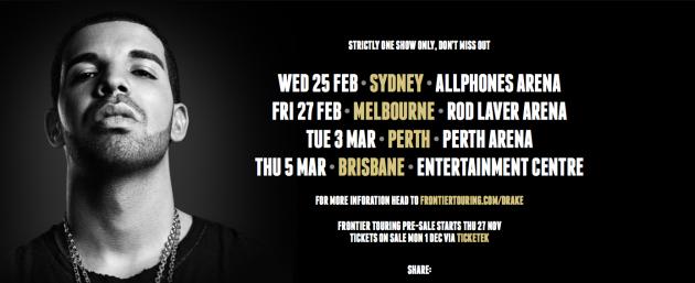 51 dates in Australia