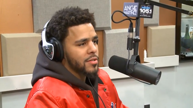 J Cole 2014 Hair Screen Shot 2014-12-12 at