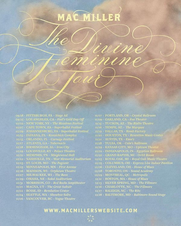 the devine femine tour