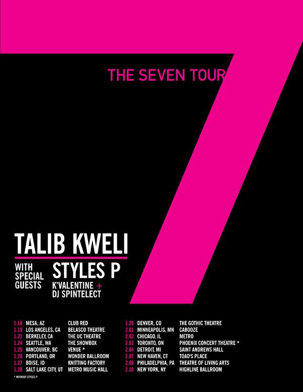 the seven tour