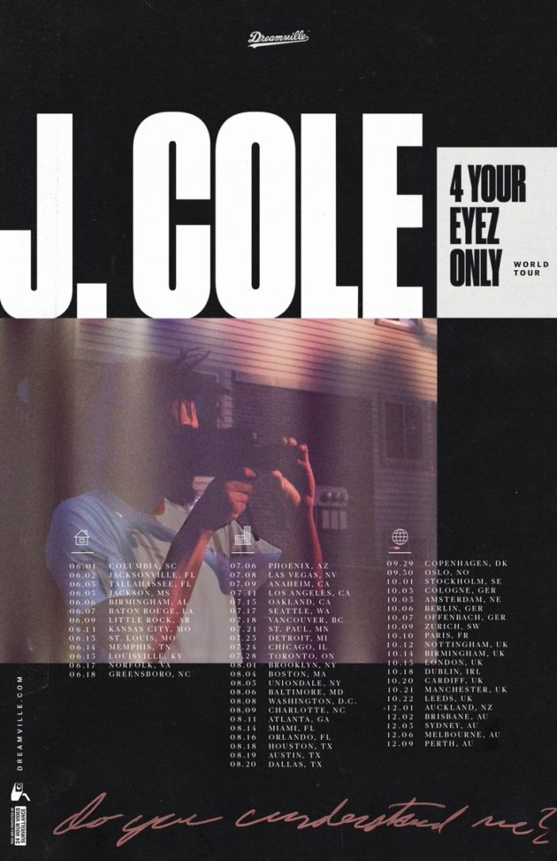your eyez only tour