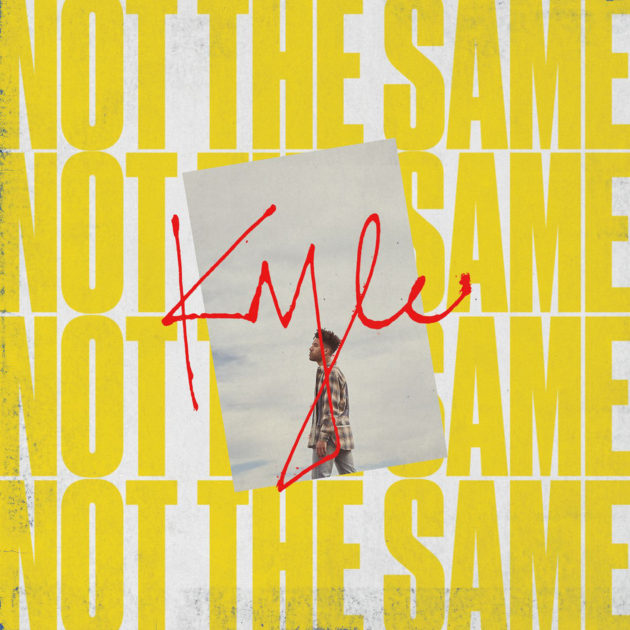 kyle-not-the-same-cover