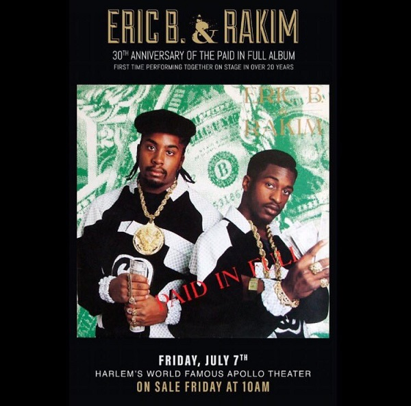 paid in full concert flyer