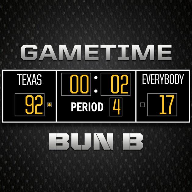 Bun B Gametime