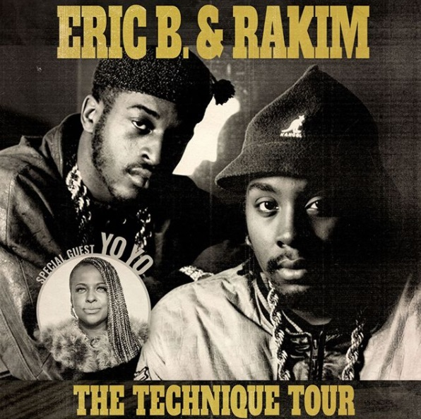 Rakim And Eric B Tour