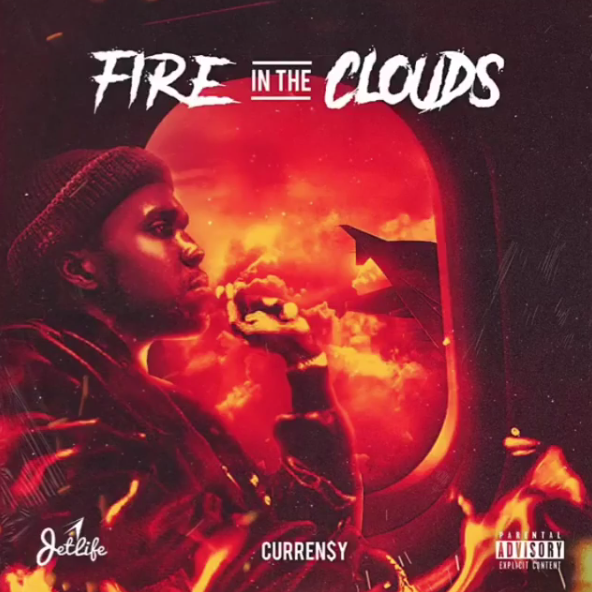 fire in the clouds