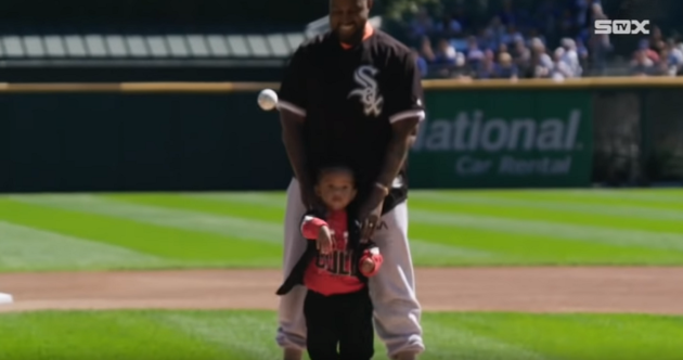 kanye first pitch
