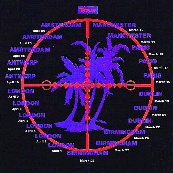the assasination tour dates